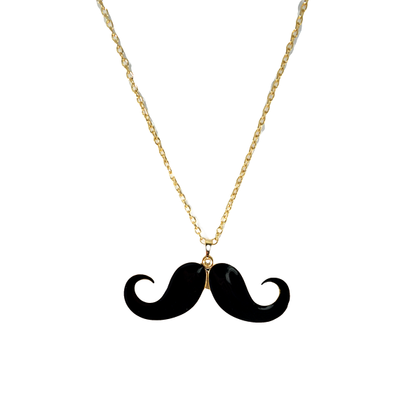 MUSTACHE NECKLACE - product image