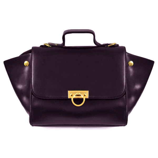 MINIMAL PU LEATHER SHOULDER BAG - product image