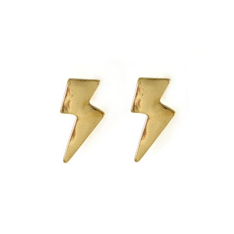 LIGHT,BOLT,EARRINGS,THUNDER EARRING, LIGHTENING EARRING, GOLD LIGHT BOLT EARRING, LIGHTBOLT EARRINGS