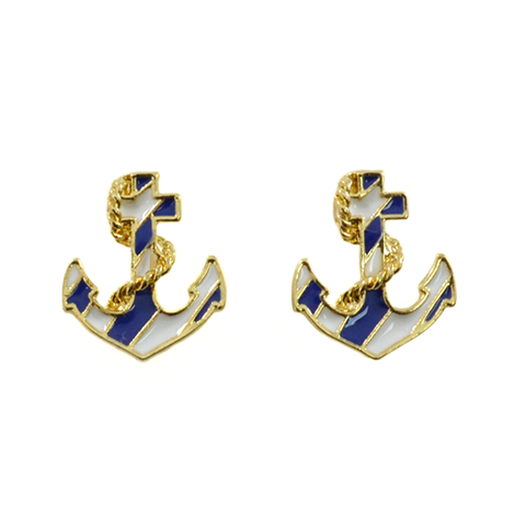 NAUTICAL,EARRINGS,NAUTICAL SIGN EARRINGS, MARINE EARRINGS, ANCHOR EARRINGS, NAUTICAL ANCHOR EARRINGS