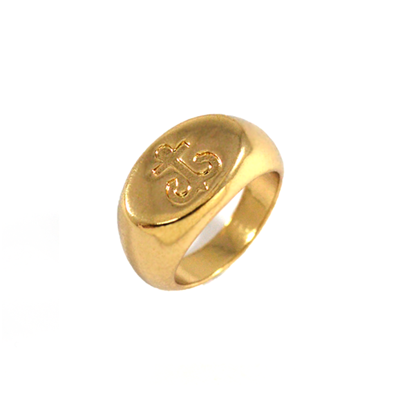 NAUTICAL SIGNET RING - product image
