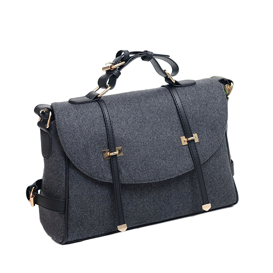 FELT POSTMAN BAG - product image