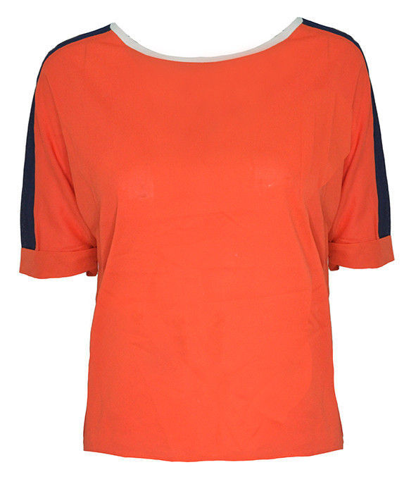 CONTRAST BLEND TOP - product image