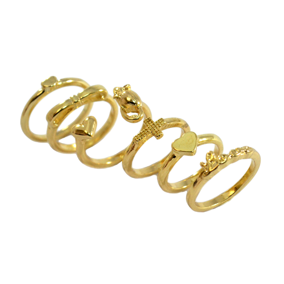 LOVE MULTI PACK RINGS - product image