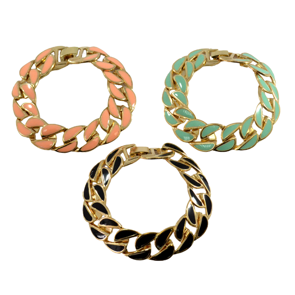 COLOURFUL CHUNKY BRACELET - product image