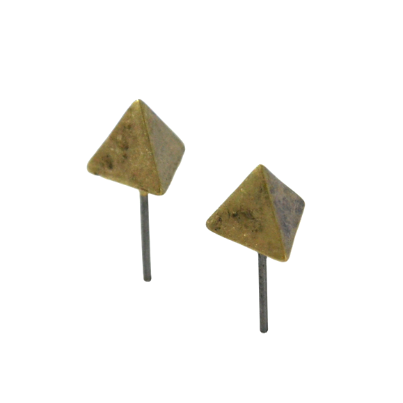 PYRAMID EARRINGS - product image