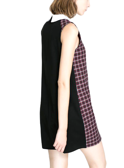 CHECK DRESS - product image