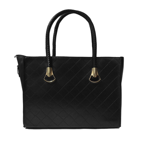 QUILTED,PATTERNED,BAG,QUILTED BAG, BLACK QUILTED BAG, BLACK QUILTED PATTERN BAG, MINIMAL QUILTED BAG
