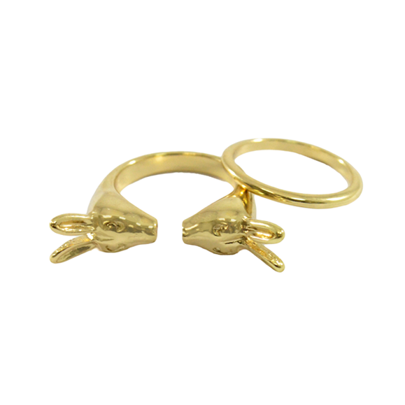 RABBIT RINGS SET - product image
