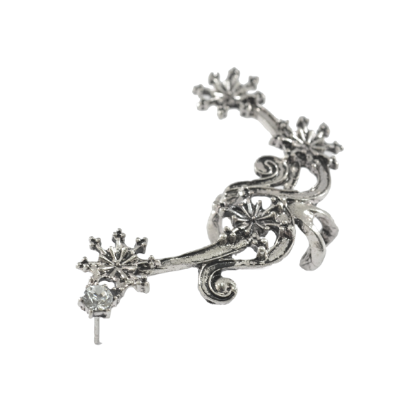 SNOWFLAKES EAR CUFF - product image
