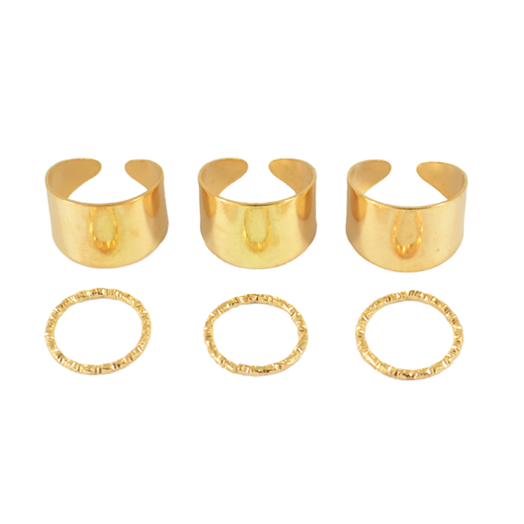 MINIMAL KNUCKLE RING SET - product image