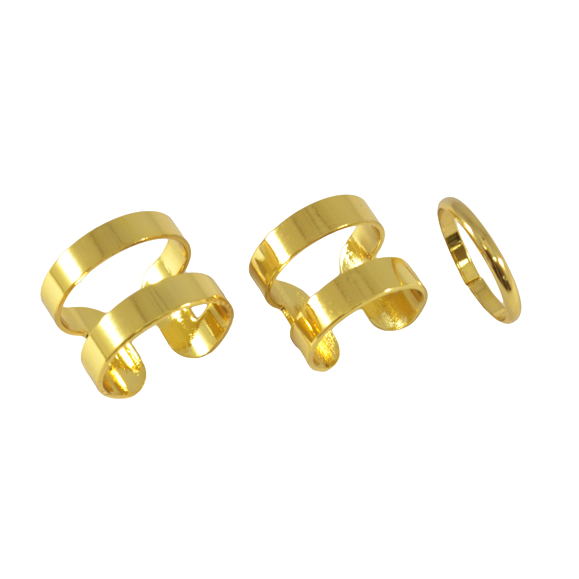 CENTER LINE MINIMAL RING SET - product image
