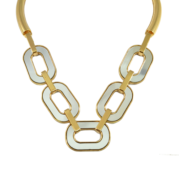 CHUNKY CHAIN LINK NECKLACE - product image