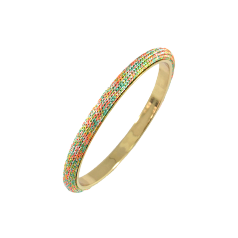 SPRING,KNITTED,BANGLE