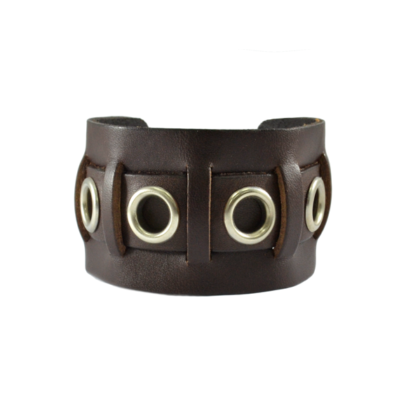 LEATHER WORKSMITH BRACELET - product image