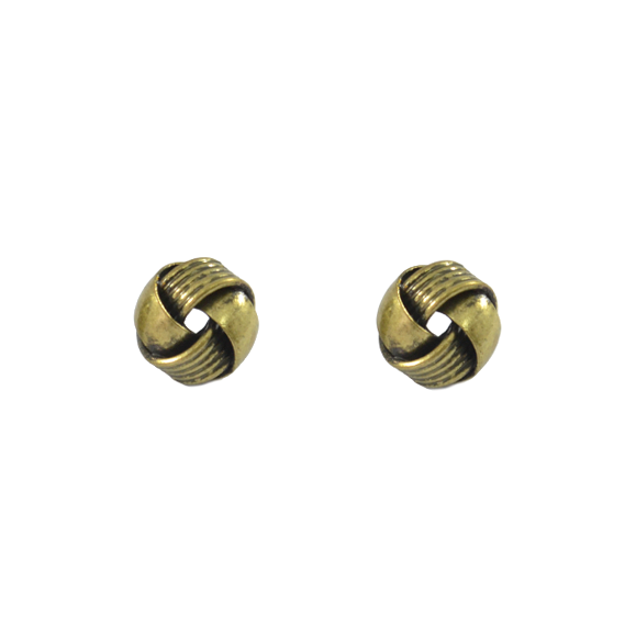 VINTAGE KNOTTED EARRINGS - product image