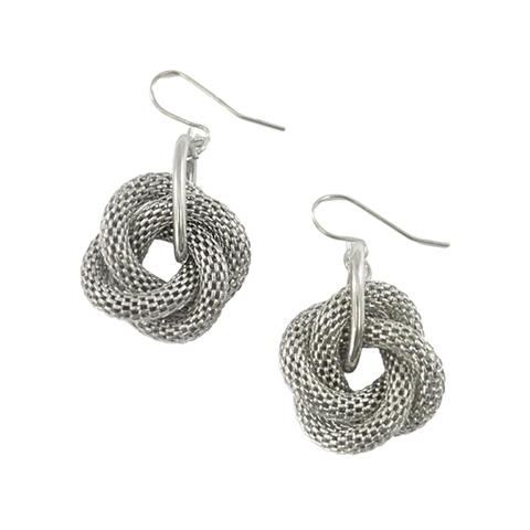 COIL,PATTERN,EARRINGS