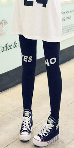 YES NO LEGGINGS - product image
