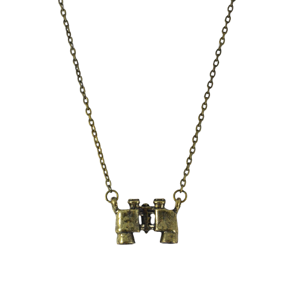 VINTAGE STYLE TELESCOPE NECKLACE - product image