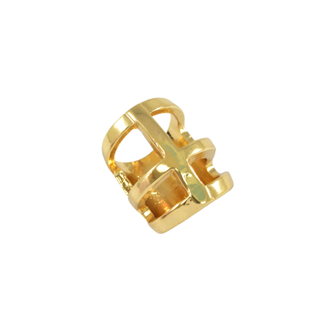 GOLD,FRAME,CHUNKY,RING