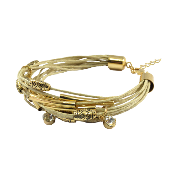 MULTI CHARM WITH TUBE BRACELET - product image