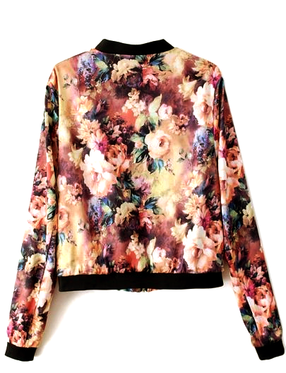 FLORAL BOMBER - product image