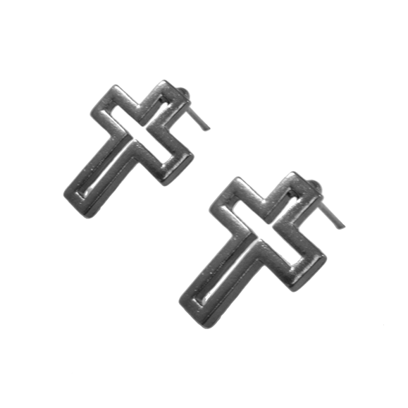 CROSS EARRINGS SET - product image
