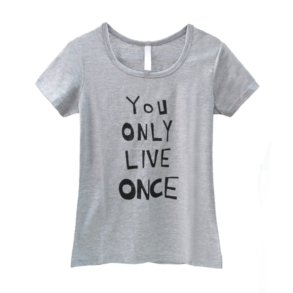 YOU ONLY LIVE ONCE TEE - product image