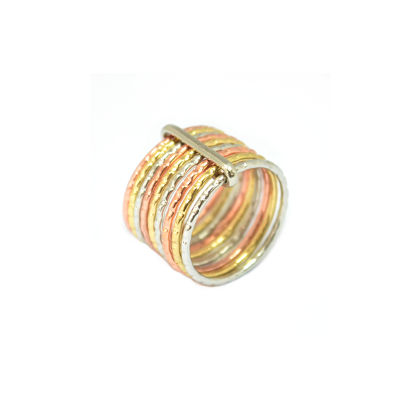 IRREGULAR EDGE LAYER RING - product image