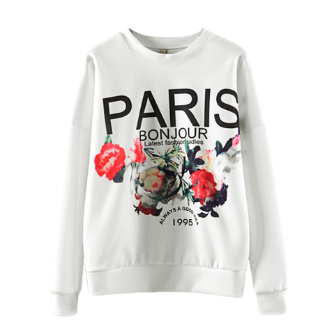 PARIS,FLORAL,JUMPER