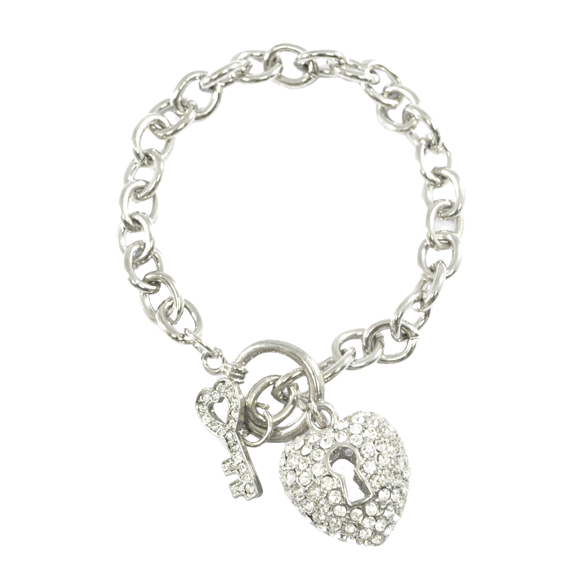 HEART LOCK BRACELET - product image