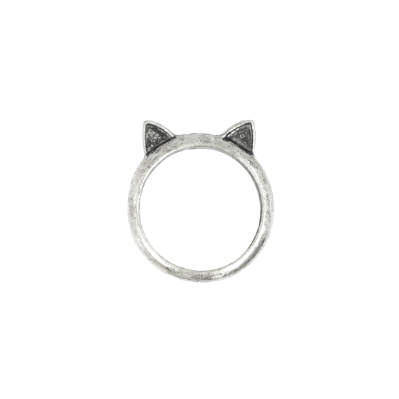 VINTAGE CAT EAR RING  - product image