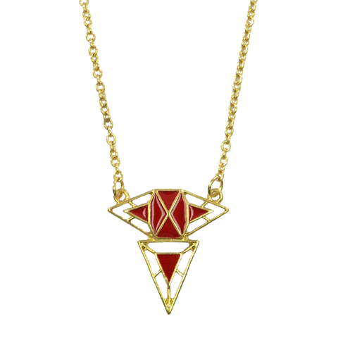 GEO,PENDANT,NECKLACE