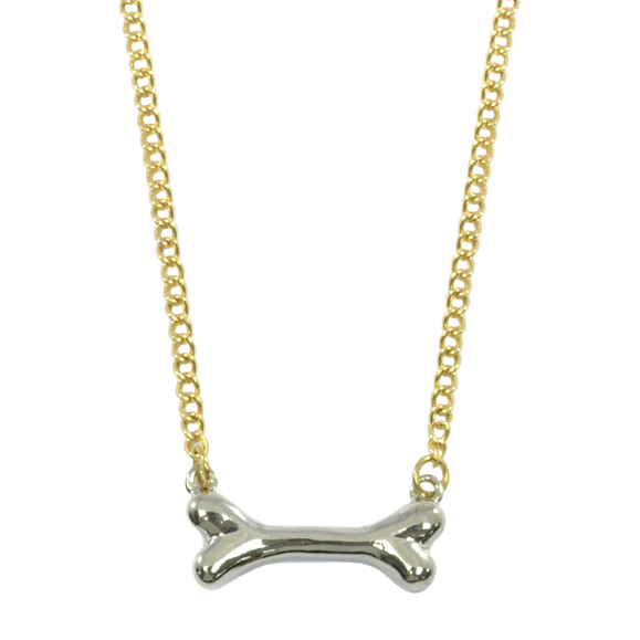 DOG BONE NECKLACE - product image
