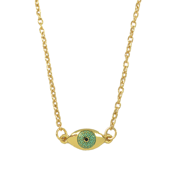 DOTTED EYE NECKLACE - product image