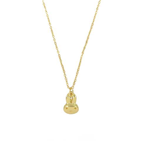 GOLD,RABBIT,NECKLACE