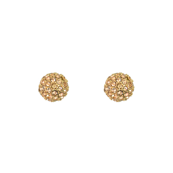 CRYSTAL BALL EARRINGS - product image
