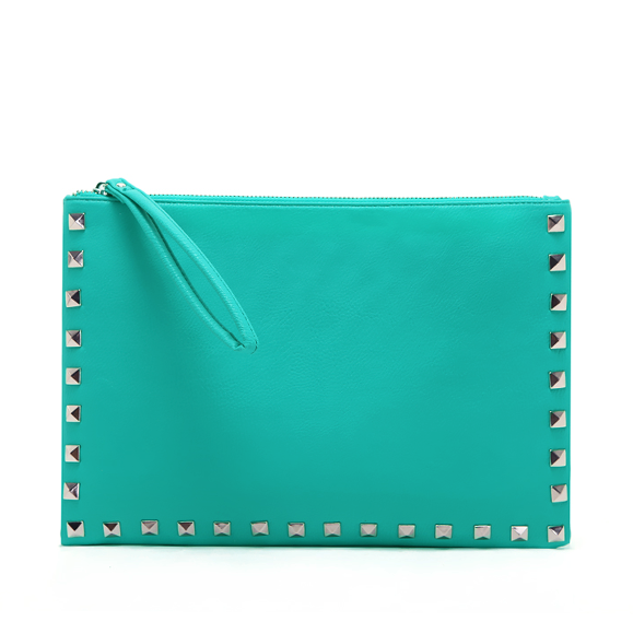 STUD CLUTCH BAG - product image
