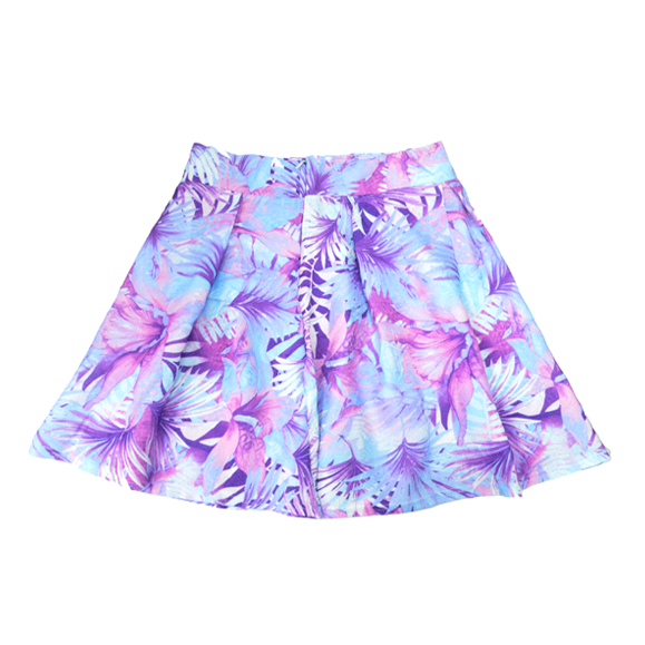 TROPICAL FLORAL SKIRT - product image