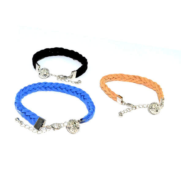 WOVEN STRAP WITH CHARM BRACELET - product image