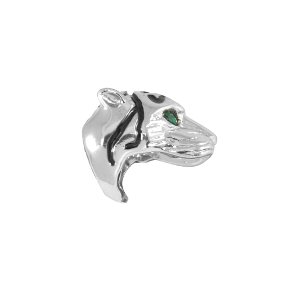 TIGER RING WITH GREEN EYES - product image