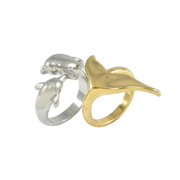 DOLPHIN RING SET - product image