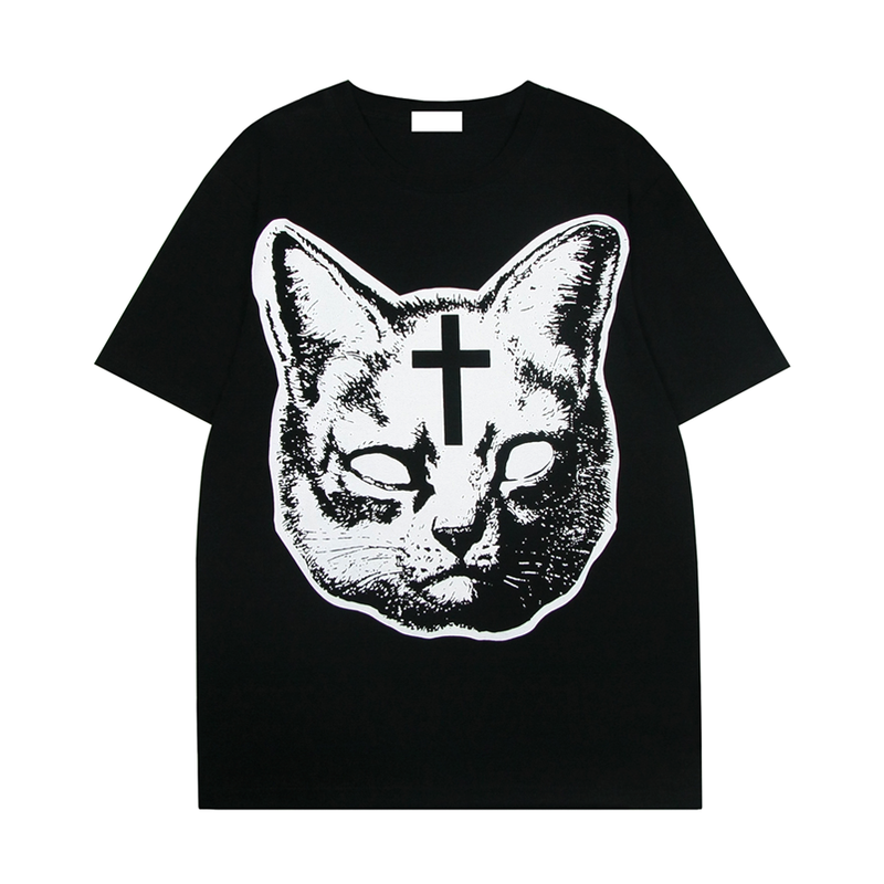 CAT CROSS TEE - product image