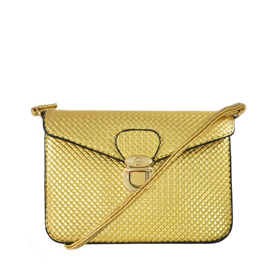 SNAKE PATTERN CLUTCH BAG - product image