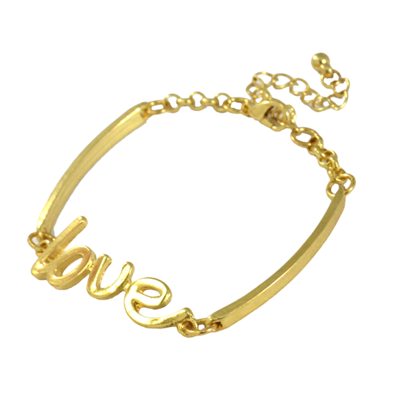 GOLD LOVE BRACELET - product image