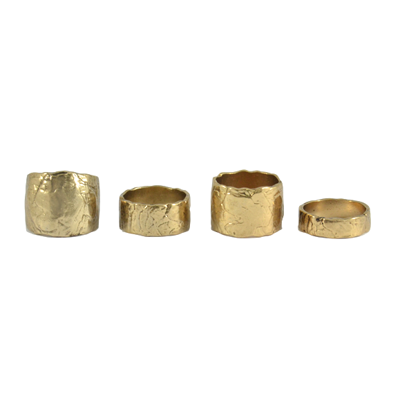 RUFF SURFACE RING SET - product image