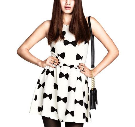BOW DRESS - product image