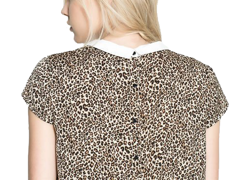 LEOPARD TOP - product image