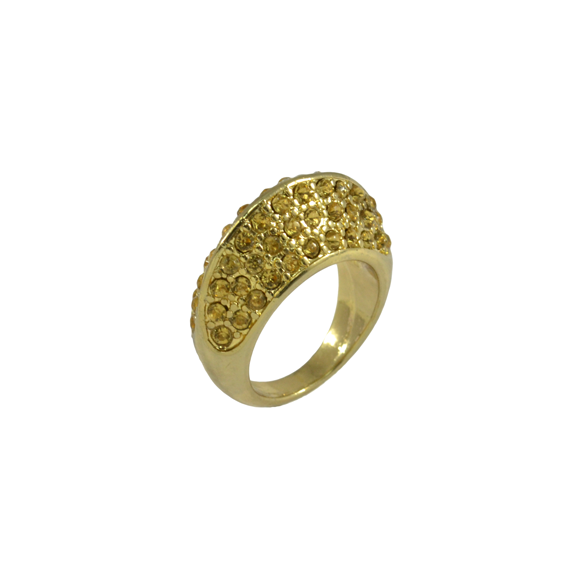 ORANGE CRYSTALS RING - product image