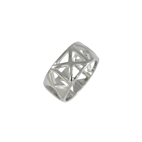 HOLLOW TRIANGLE  RING - product image